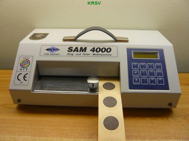 Sam 4000 auswertemaschine